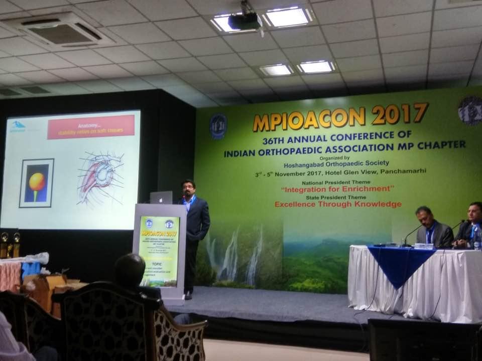 Arthroscopy Case Presentation Jabalpur